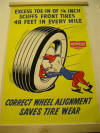 Poster Hudson Wheel Alignment